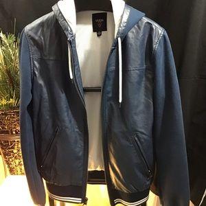Guess faux leather men's jacket